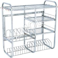 Stainless Steel Kitchen Shelves by Stainless Steel Kitchen Rack Manufacturer Stainless Steel Kitchen