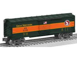 lionel trains 6 81198 great northern us made boxcar