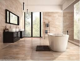 Beige Bathroom Tiles by 10 30m2 Sample Astbury Beige Marble Effect Ceramic Bathroom Wall