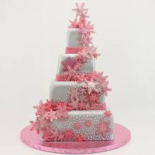 Christmas Cake Decorations Snowflakes by 24 Best Christening Ideas Images On Pinterest Snowflakes Cherry