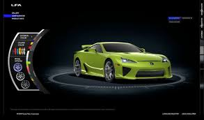 lexus lfa electric lexus lfa online configurator launched and yes u0027passionate pink