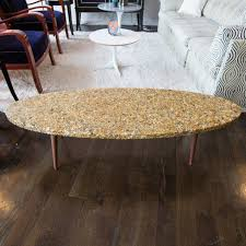 Surfboard Coffee Table Vintage Surfboard Coffee Table Made Of River Rock In Resin At 1stdibs