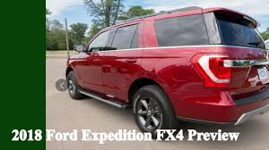 2018 ford expedition fx4 preview youtube