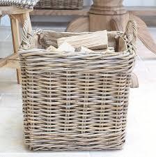 Cane Laundry Hamper by Log Baskets Notonthehighstreet Com