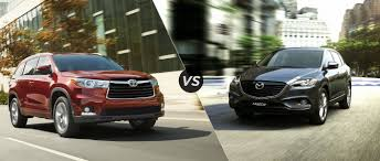 toyota highlander vs nissan pathfinder 2015 toyota highlander vs 2015 mazda cx 9