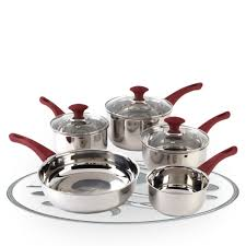 Stainless Steel Kitchen Set by Russell Hobbs Heritage Fresno 5 Piece Stainless Steel Kitchen Pan