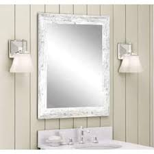 White Framed Mirror For Bathroom White Mirrors For Less Overstock