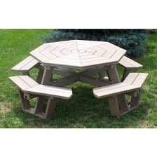 Exteriors Recycled Plastic Picnic Tables Cedar Hexagon Picnic by 24 Best Amish Picnic Tables Images On Pinterest Picnics Amish