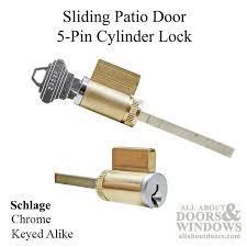 5 Patio Door Sliding Door Cylinder Lock Locks Sliding Patio Doors
