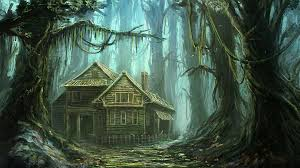 forest house house in forest by mrainbowwj on deviantart