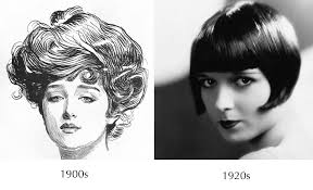 hairstyles in the the 1900s how contemporary hairstyles affect historical costume movies the