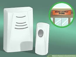 Interior Doorbell Cover How To Replace A Doorbell Chime 13 Steps With Pictures