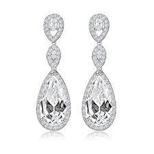 drop bridal earrings zara teardrop bridal earrings bridal jewellery and accessories