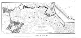 Boston Map 1770 by Ten Landscape Designers Who Changed The World Oupblog