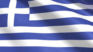 Flag With Cross And Stripes Greek Flag Hellenic Primary U0026 Nursery