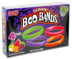 halloween candy png halloween gummy boo bands 20ct box seasonal flix candy