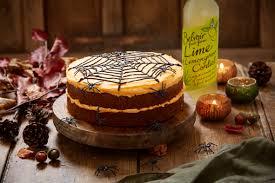 lime u0026 lemongrass carrot cake halloween version lisa faulkner