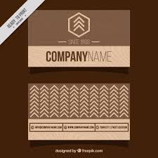 Wood Texture Business Card Minimalist Business Card With Wooden Design Vector Free Download