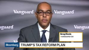 vanguard cio sees economic positives in tax cuts u2013 bloomberg