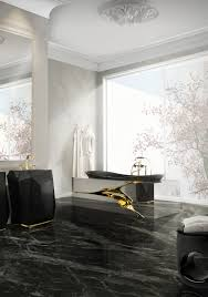 luxury bathroom design with silver accents bathtubs bathroom