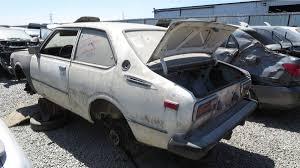 toyota in california junkyard treasure 1978 toyota corolla autoweek