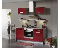 Cuisine Rouge Et Grise by Cuisine Gris Anthracite Et Rouge U2013 Chaios Com
