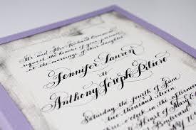 Calligraphy Wedding Invitations Wedding Invitations Hand Calligraphy Wedding Stationery Black