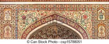 indian ornament jaipur india indian ornament on wall of