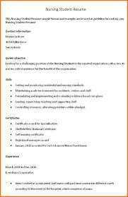 nursing student resume sample objective student objective for resume free student objective for resume large size