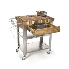 Chopping Block Kitchen Island by Kitchen Work Tables Buffalo Tools Stainless Steel Work Table