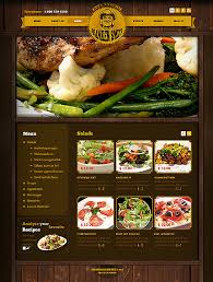 photoshop menu template cafe restaurant website template 38028 website templates zeronese