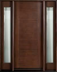 Exterior Wooden Door Custom Exterior Wood Doors To Clean And Stain Exterior Wood