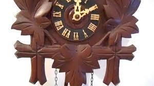 Antique Cuckoo Clock Vintage Schatz 8 Day Cuckoo Clock Youtube