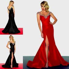red sparkly mermaid prom dresses naf dresses