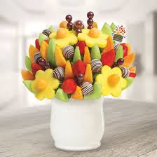 edible attangements delicious fruit design swizzle apple truffle edible arrangements