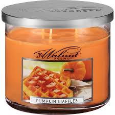 719 walnut avenue pumpkin waffles scented candle 14 oz walmart