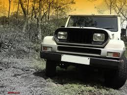 long jeep my mahindra armada 2 1 2wd long term report team bhp