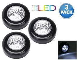 stick up led lights led stick on lights 3 pack peel and stick mini led puck lights best