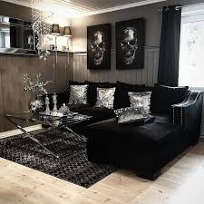 black white and silver bedroom ideas living room room set black and white home decor all black living