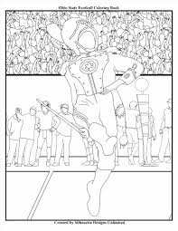 football printable coloring pages page printable coloring pages christmas free brutus buckeye page