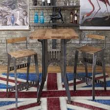 trent design pub tables bistro maple pub tables bistro sets you ll wayfair