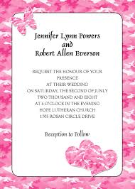 pink wedding invitations country rustic camo wedding ideas and wedding invitations 2014