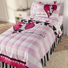 having fun with pink minnie mouse toddler bed set toddler sheets