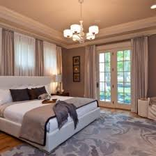 Gray Painted Bedrooms Cozy Light Grey Themed Bedroom Ideas With High Hedboarded Bed In