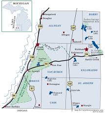 Snowmobile Trail Maps Michigan by Kal Haven Trail Is Close To Brandywine Lake 37 Mile Trail Goes