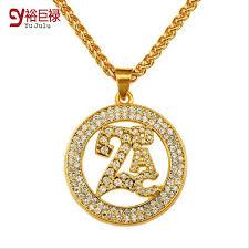aliexpress buy new arrival fashion shiny gold plated aliexpress buy 2017 gold plating hip hop fashion jewelry