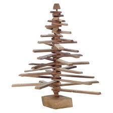 wood slat spiral tree decor target
