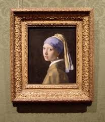 girl with the pearl earring painting vermeer s paintings in their frames girl with a pearl earring