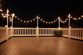 deck string lighting ideas seattle deck lighting ideas eclectic with lights contemporary
