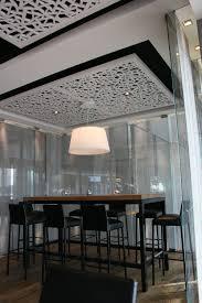 isolation plafond chambre panneau acoustique en mdf pour faux plafond perforé pour